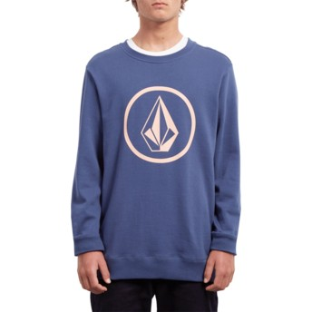 Sweat-shirt bleu Stone Matured Blue Volcom