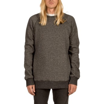 Sweat-shirt noir Static Stone Black Volcom