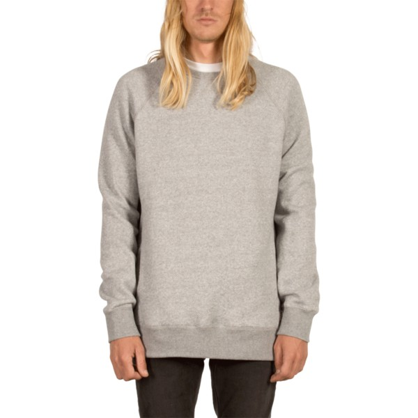 sweat-shirt-gris-static-stone-grey-volcom