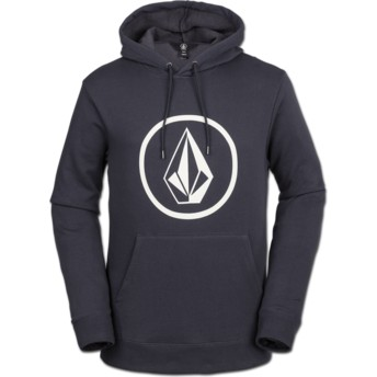 Sweat à capuche bleu marine Stone Midnight Blue Volcom