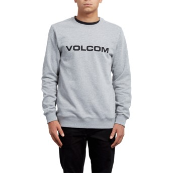 Sweat-shirt gris Imprint Grey Volcom