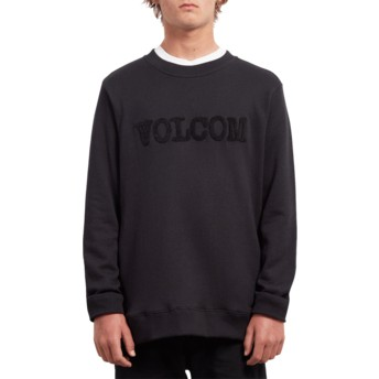 Sweat-shirt noir Cause Black Volcom