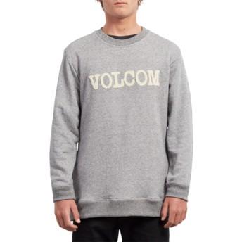 Sweat-shirt gris Cause Grey Volcom