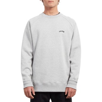 Sweat-shirt gris Inthology Heather Grey Volcom