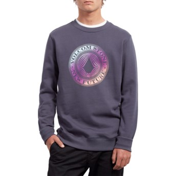 Sweat-shirt bleu marine Supply Stone Midnight Blue Volcom