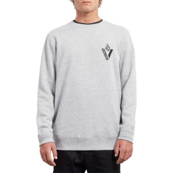 Sweat-shirt noir Supply Stone Storm Volcom