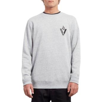 Sweat-shirt noir Supply Stone Storm Volcom