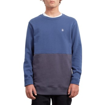 Sweat-shirt bleu Single Stone Division Matured Blue Volcom