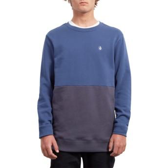 Sweat-shirt bleu Single Stone Division Matured Blue Volcom