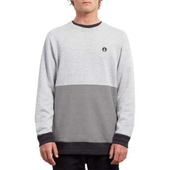 Sweat-shirt gris Threezy Grey Volcom