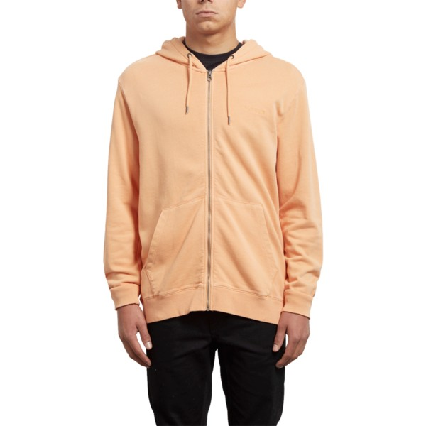 sweat-a-capuche-et-fermeture-eclair-orange-case-summer-orange-volcom