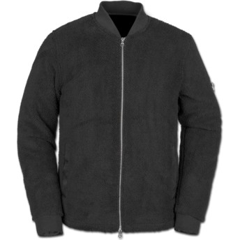 Sweat-shirt et fermeture éclair noir Field Polar Black Volcom