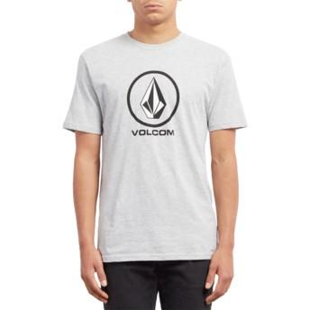T-shirt à manche courte gris Crisp Stone Heather Grey Volcom