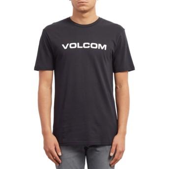 T-shirt à manche courte noir Crisp Euro Black Volcom