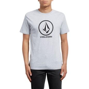 T-shirt à manche courte gris Crisp Heather Grey Volcom