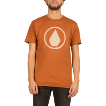 T-shirt à manche courte marron Burnt Copper Volcom