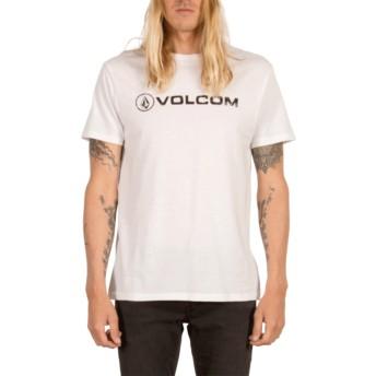 T-shirt à manche courte blanc Line Euro White Volcom