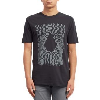 T-shirt à manche courte noir Wiggly Black Volcom