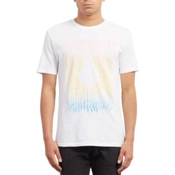 T-shirt à manche courte blanc Wiggly White Volcom