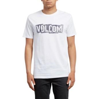 T-shirt à manche courte blanc Edge White Volcom
