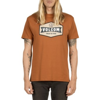T-shirt à manche courte marron Budy Copper Volcom