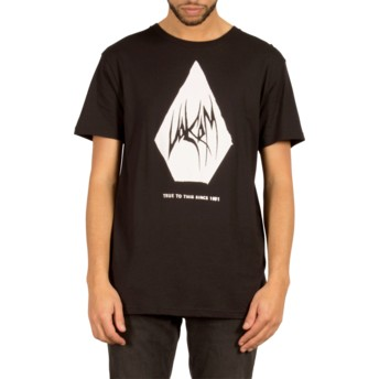 T-shirt à manche courte noir Carving Block Black Volcom