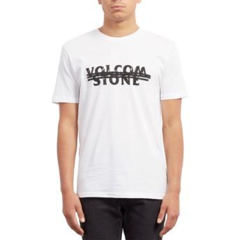 T-shirt à manche courte blanc Big Mistake White Volcom