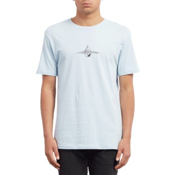 T-shirt à manche courte bleu Surface Arctic Blue Volcom