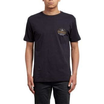 T-shirt à manche courte noir Barred Black Volcom