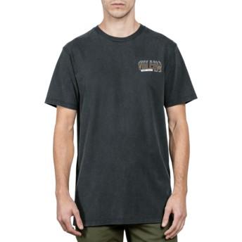 T-shirt à manche courte noir Copy Cut Black Volcom