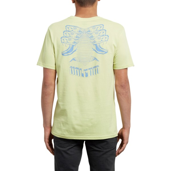 t-shirt-a-manche-courte-jaune-digitalpoison-shadow-lime-volcom