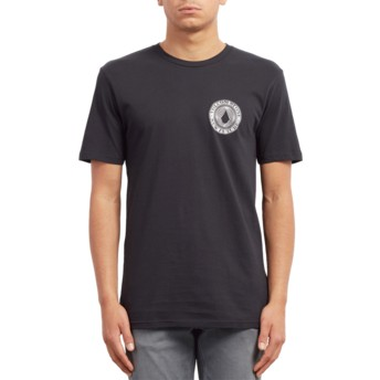 T-shirt à manche courte noir Volcomsphere Black Volcom