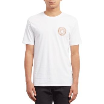 T-shirt à manche courte blanc Volcomsphere White Volcom
