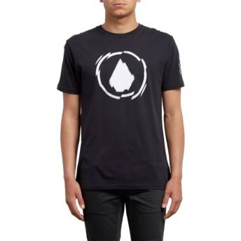 T-shirt à manche courte noir Shatter Black Volcom