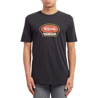 T-shirt à manche courte noir Cresticle Black Volcom