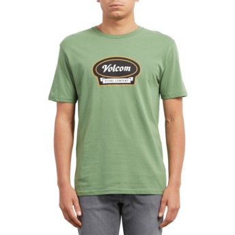 T-shirt à manche courte vert Cresticle Dark Kelly Volcom