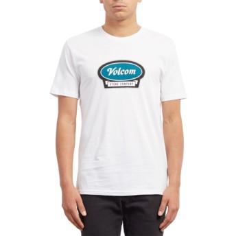 T-shirt à manche courte blanc Cresticle White Volcom