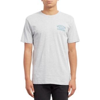 T-shirt à manche courte gris Hyptonec Heather Grey Volcom