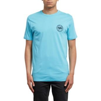 T-shirt à manche courte bleu Flag Blue Bird Volcom