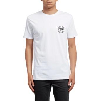 T-shirt à manche courte blanc Flag White Volcom