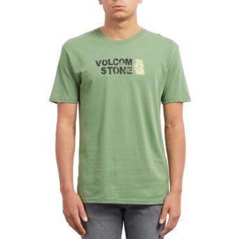 T-shirt à manche courte vert Stence Dark Kelly Volcom