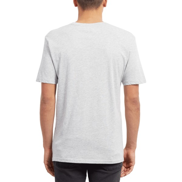 t-shirt-a-manche-courte-gris-stence-heather-grey-volcom