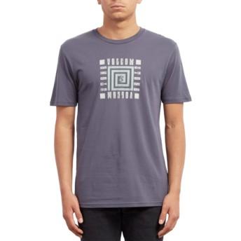 T-shirt à manche courte bleu marine Mezo Midnight Blue Volcom