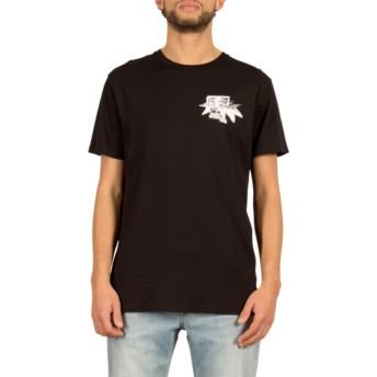 T-shirt à manche courte noir Mag Vibes Black Volcom