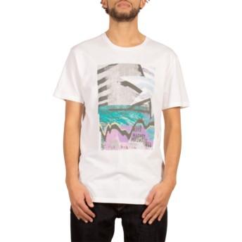 T-shirt à manche courte blanc Mag Vibes White Volcom