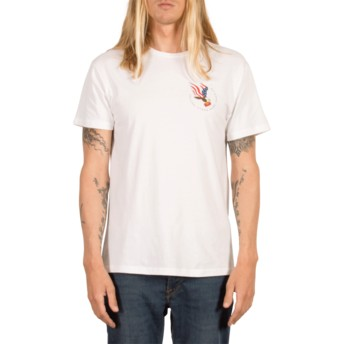 T-shirt à manche courte blanc Beer Drop White Volcom