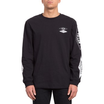 T-shirt à manche longue noir V.I. Bxy Black Volcom