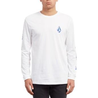 T-shirt à manche longue blanc Deadly Stone White Volcom