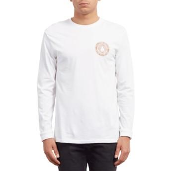 T-shirt à manche longue blanc Volcomsphere White Volcom
