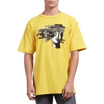 T-shirt à manche courte jaune Noa Noise Head Cyber Yellow Volcom